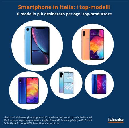 smartphone più popolari