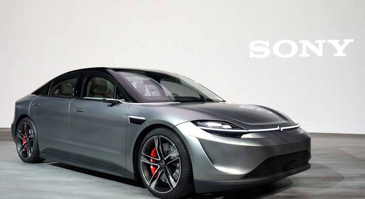 sony vision-s concept car
