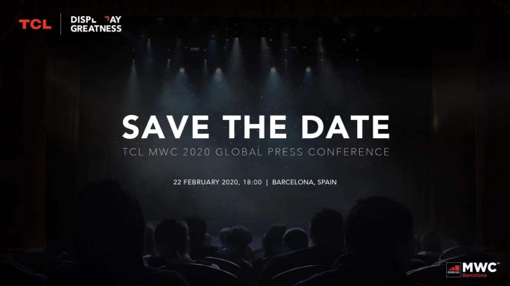 tcl mwc 2020 teaser