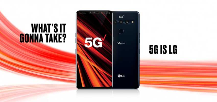 lg smartphone 5g