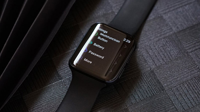 oppo smartwatch wear os