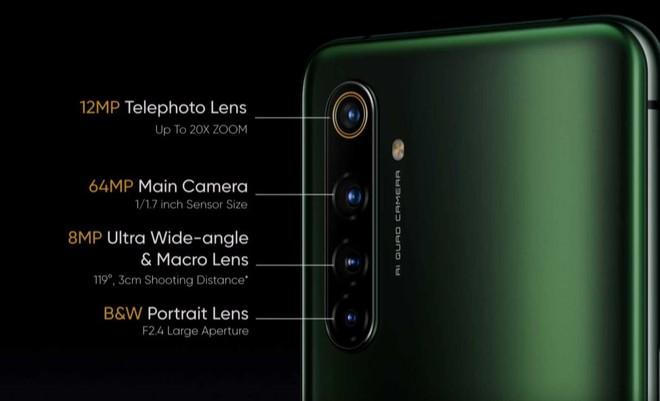 fotocamere posteriori realme x50 pro 5g