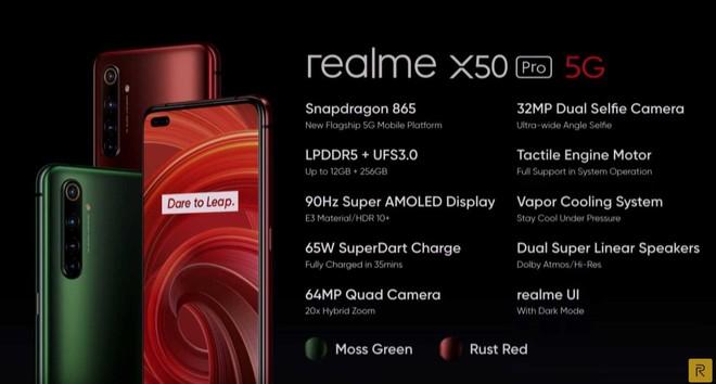 realme x50 pro 5g caratteristiche