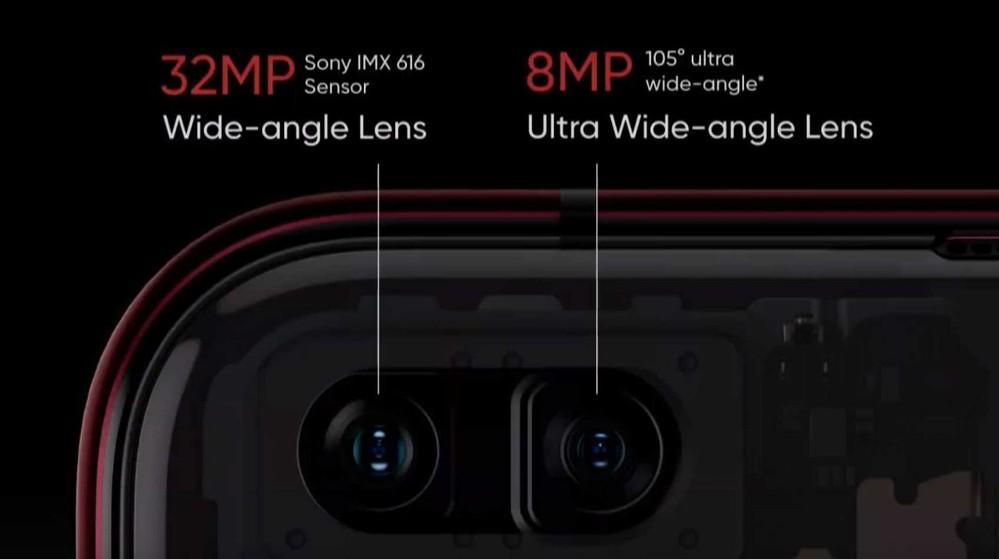 doppia fotocamera frontale realme x50 pro