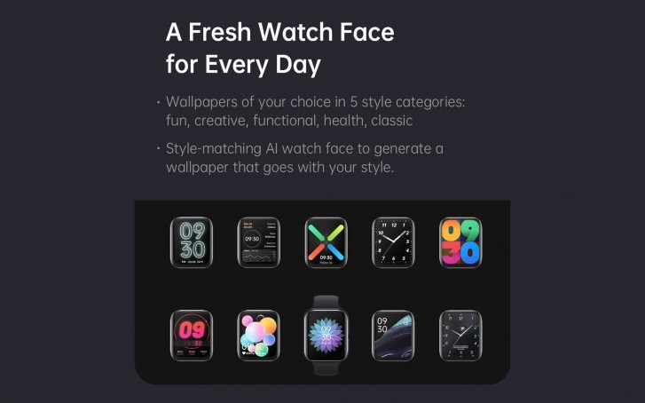 oppo watch faces