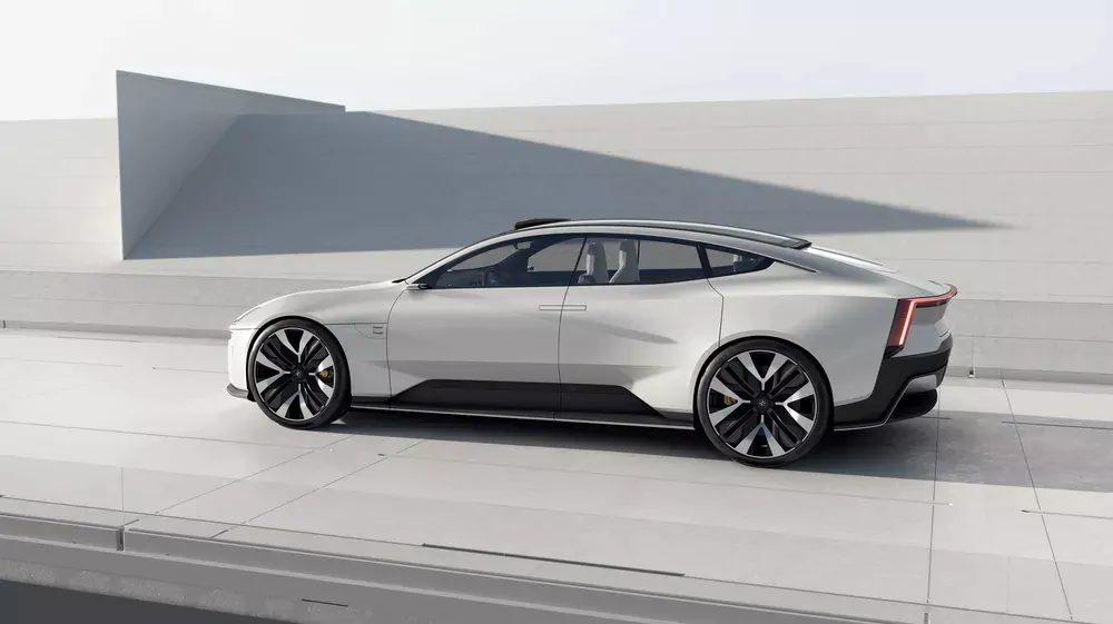 polestar precept android automotive