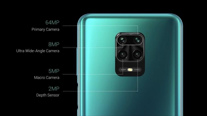 fotocamera note 9 pro max