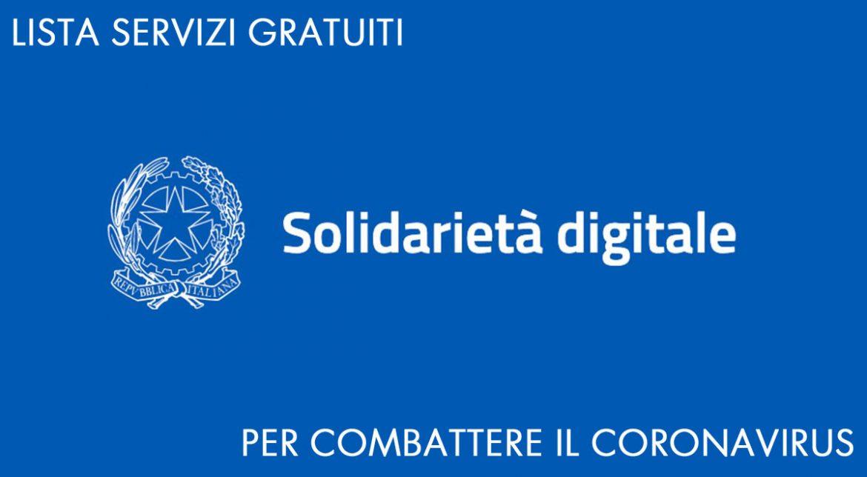 solidarietà digitale lista servizi gratuiti