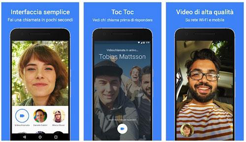 app per videochiamate google duo