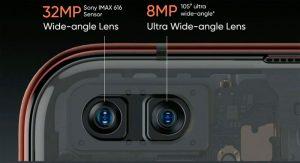 specifiche smartphone fotocamera frontale