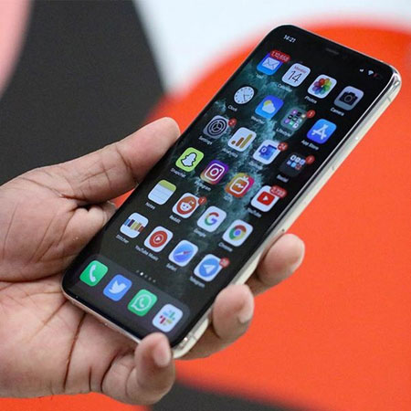 iphone 11 pro fronte