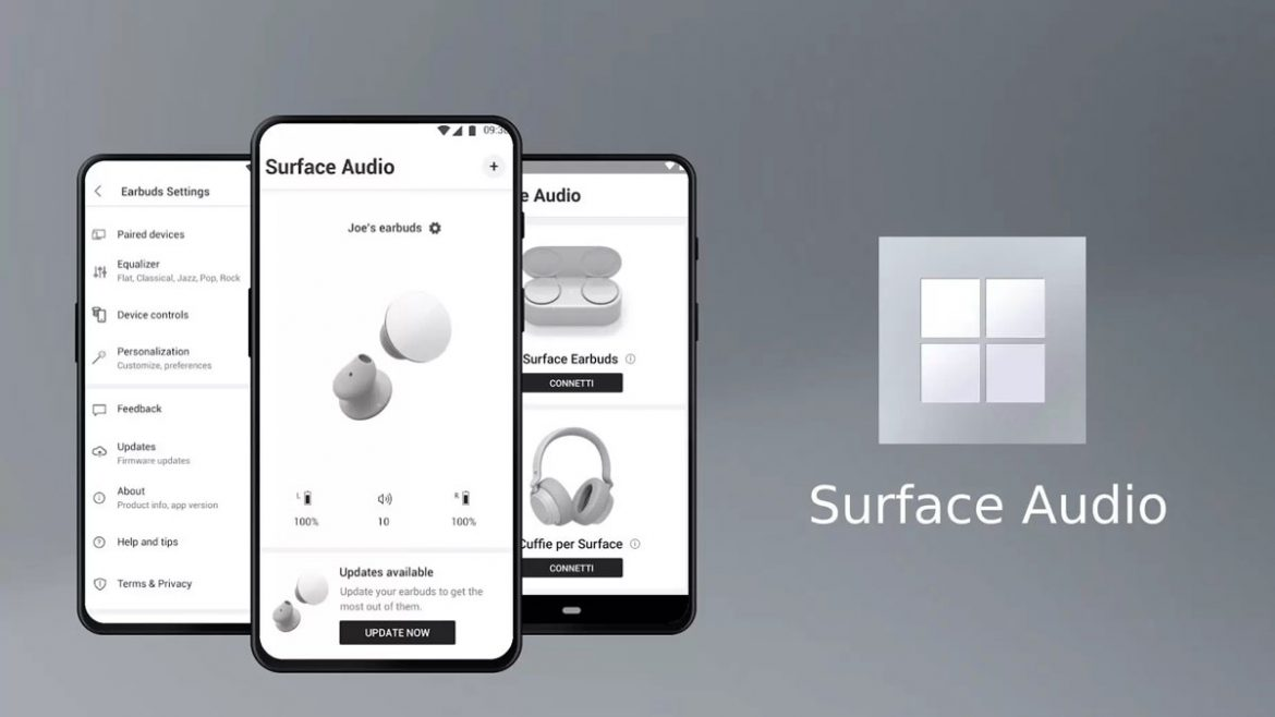 microsoft surface audio app
