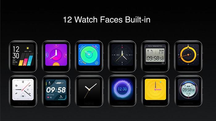 realme watch faces
