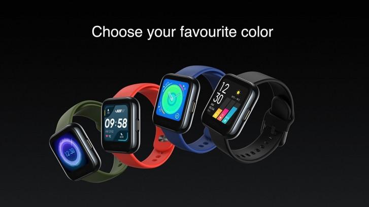 realme watch colori