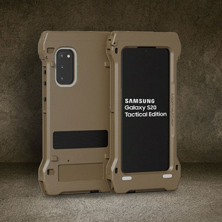 samsung galaxy s20 tactical edition render