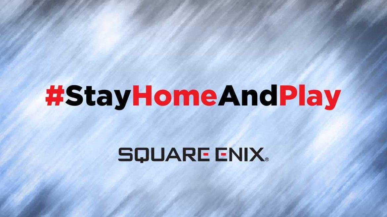square enix stay home offerta