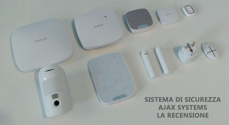 sistema di sicurezza e antifurto smart ajax systems