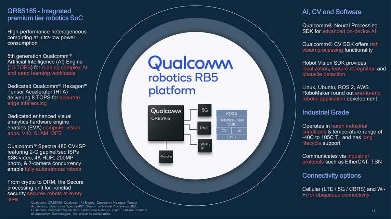 qualcomm robotics rb5