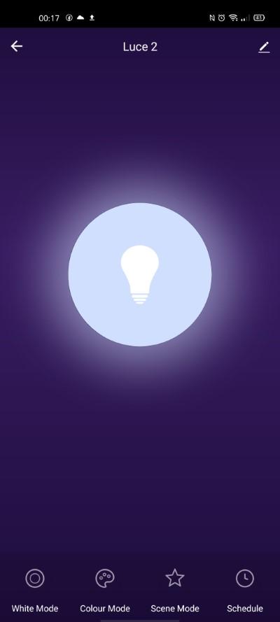 app tuya smart life lampadina