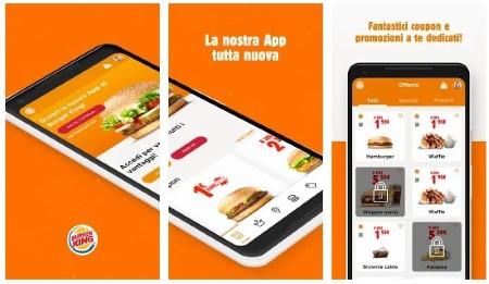 burger king italia app