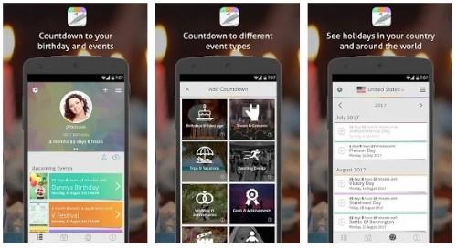 countdown+ app promemoria