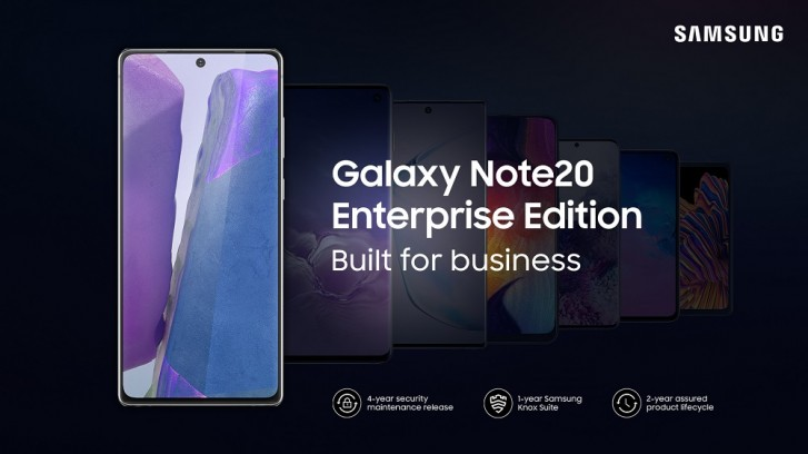 samsung galaxy note 20 enterprise edition