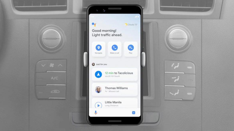 android auto e google assistant modalità