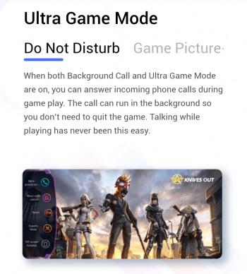 vivo funtouch os 11 ultra game mode