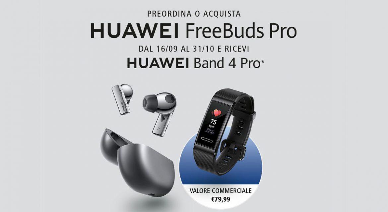 huawei freebuds pro e band 4 pro