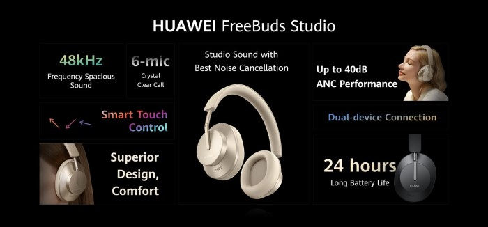 huawei freebuds studio specifiche
