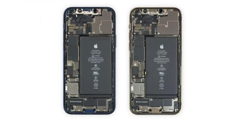 iphone 12 e 12 pro teardown