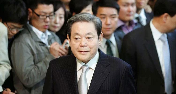 presidente Samsung lee kun-hee