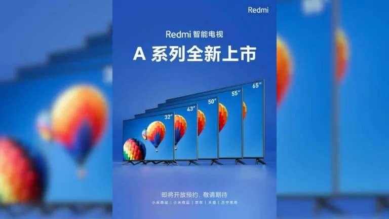 redmi smart tv A32, A50, A55 e A65
