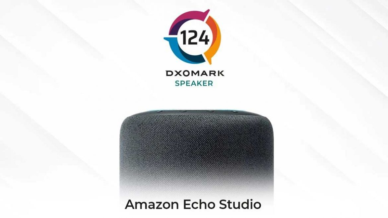 dxomark amazon echo studio punteggio