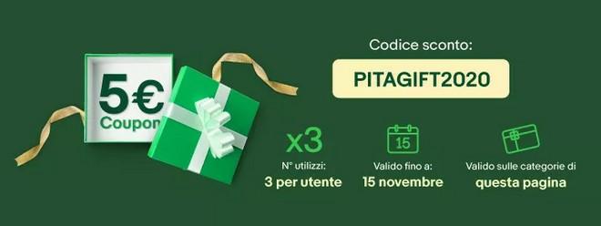 ebay codice sconto 5 euro