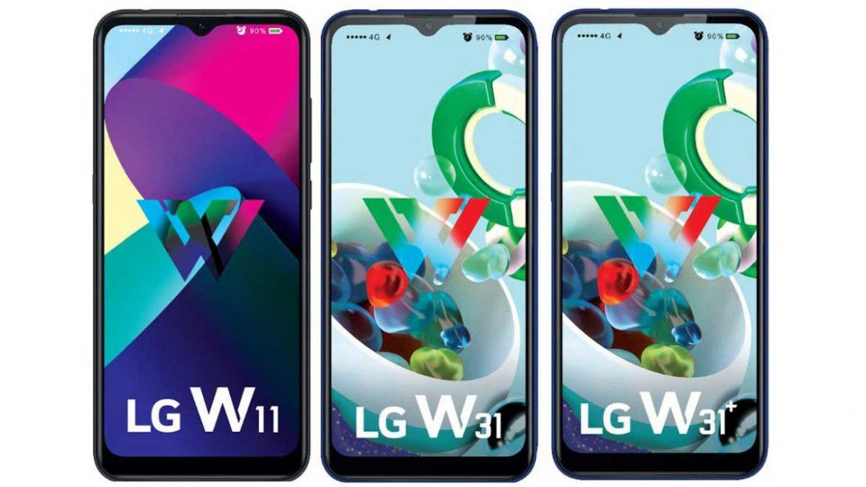 lg w11, w31 e w31+