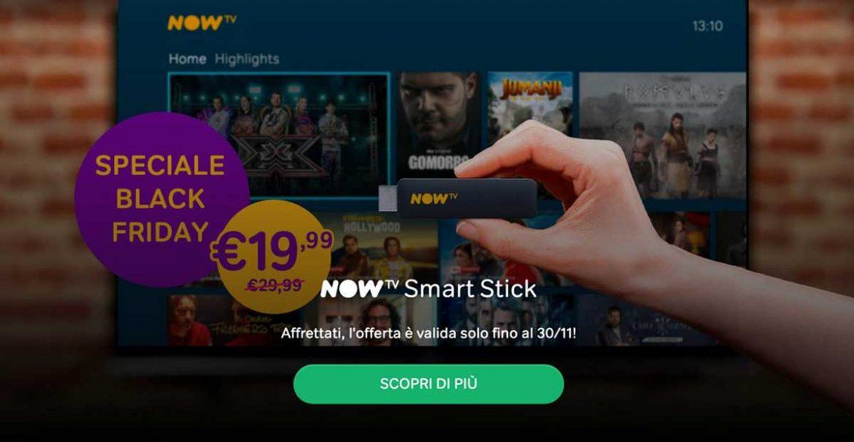 now tv smart sitck offerta