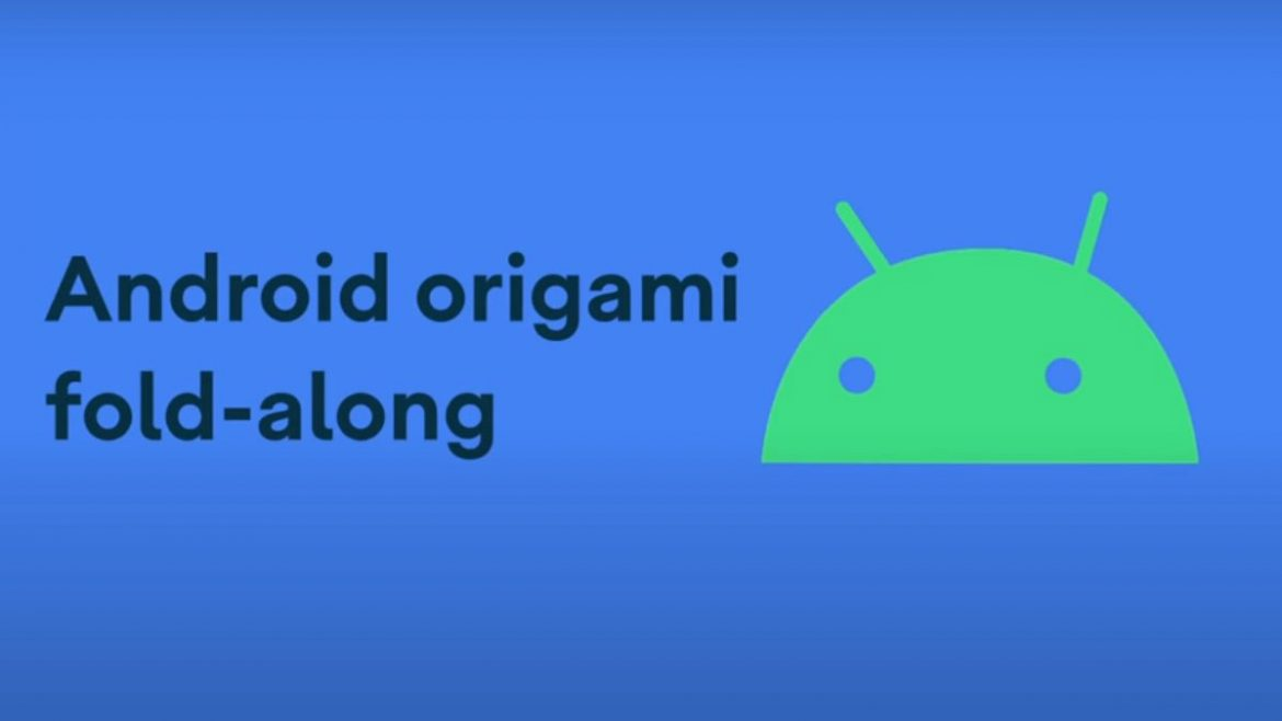 android logo origami