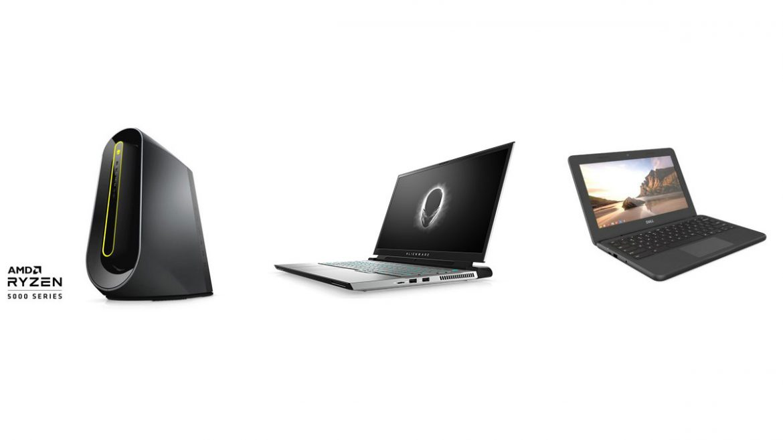 dell pc desktop e notebook ces 2021