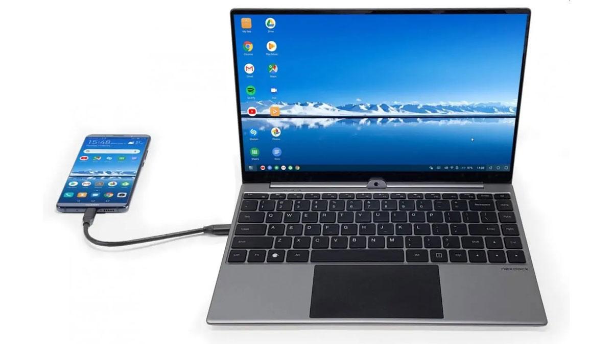 Trasformare ogni smartphone in notebook è possibile, con NexDock 360
