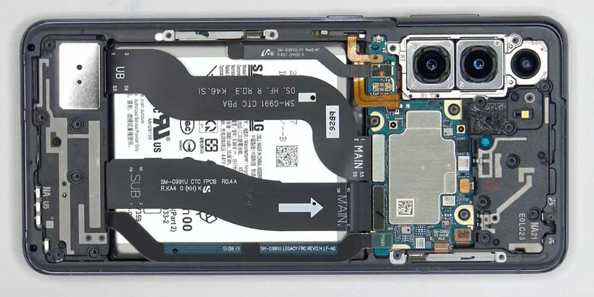 Samsung Galaxy S21 si rivela di facile riparazione nel primo teardown