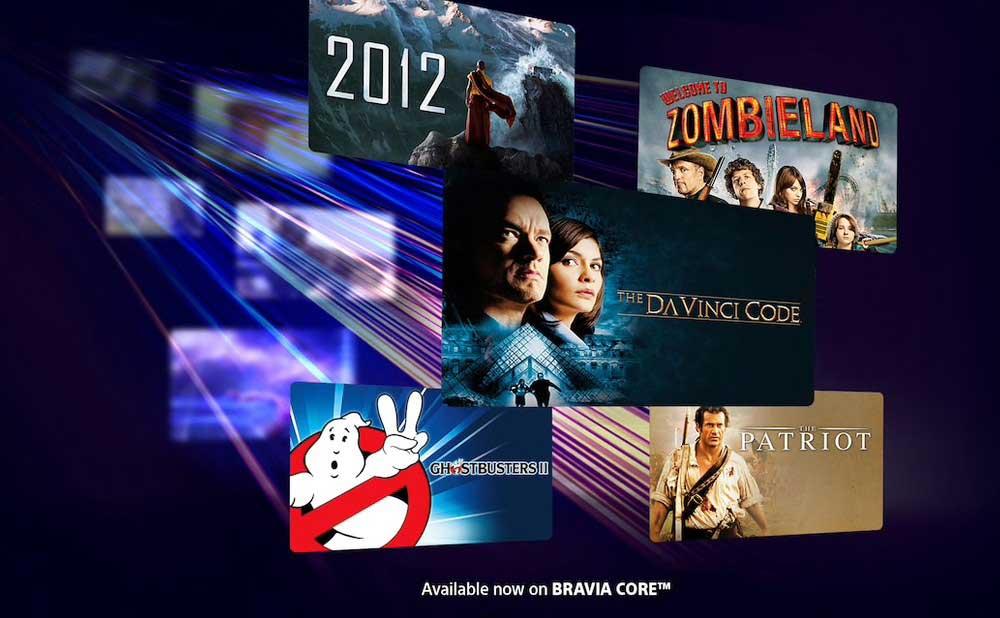 Sony lancia il suo servizio di streaming Bravia Core: qualità video al top