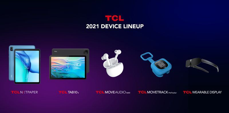 tcl 2021 device lineup