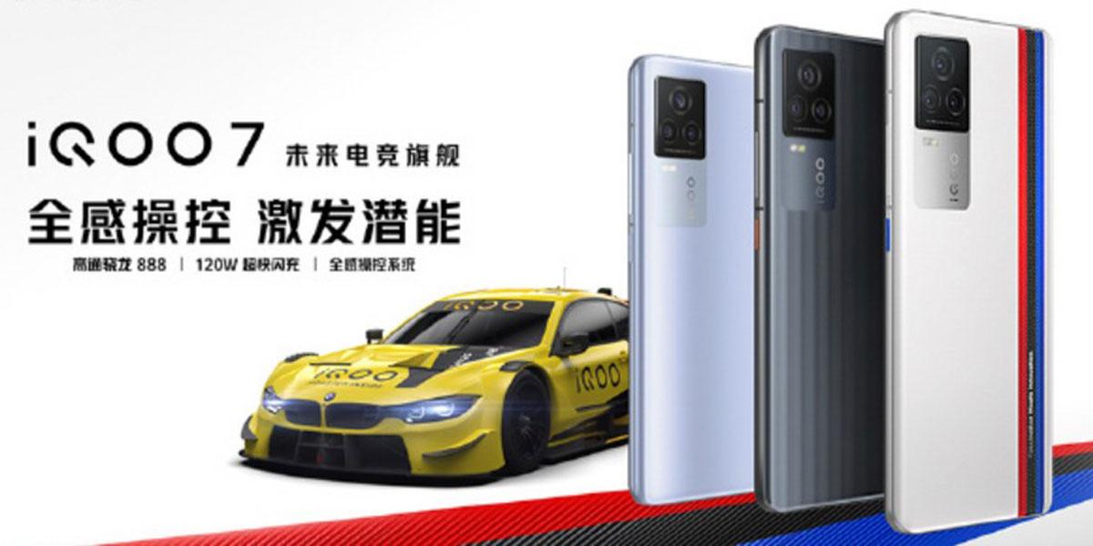 iQOO 7: ufficiale il 2° smartphone con Snapdragon 888 (e ricarica a 120W)