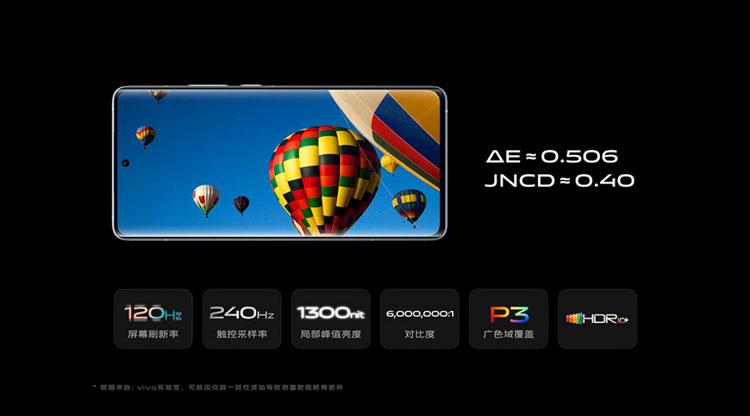 vivo x60 pro+ display