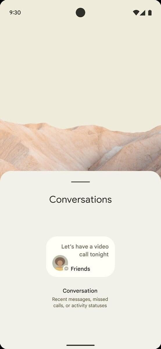 android 12 conversazioni