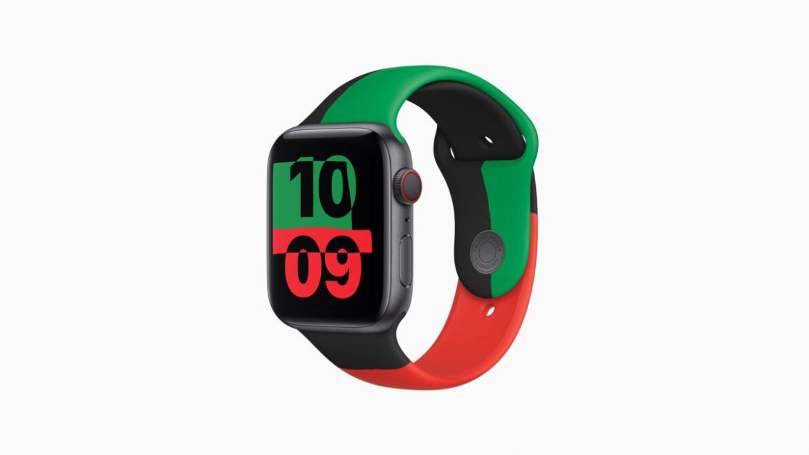 apple watch 6 black unity