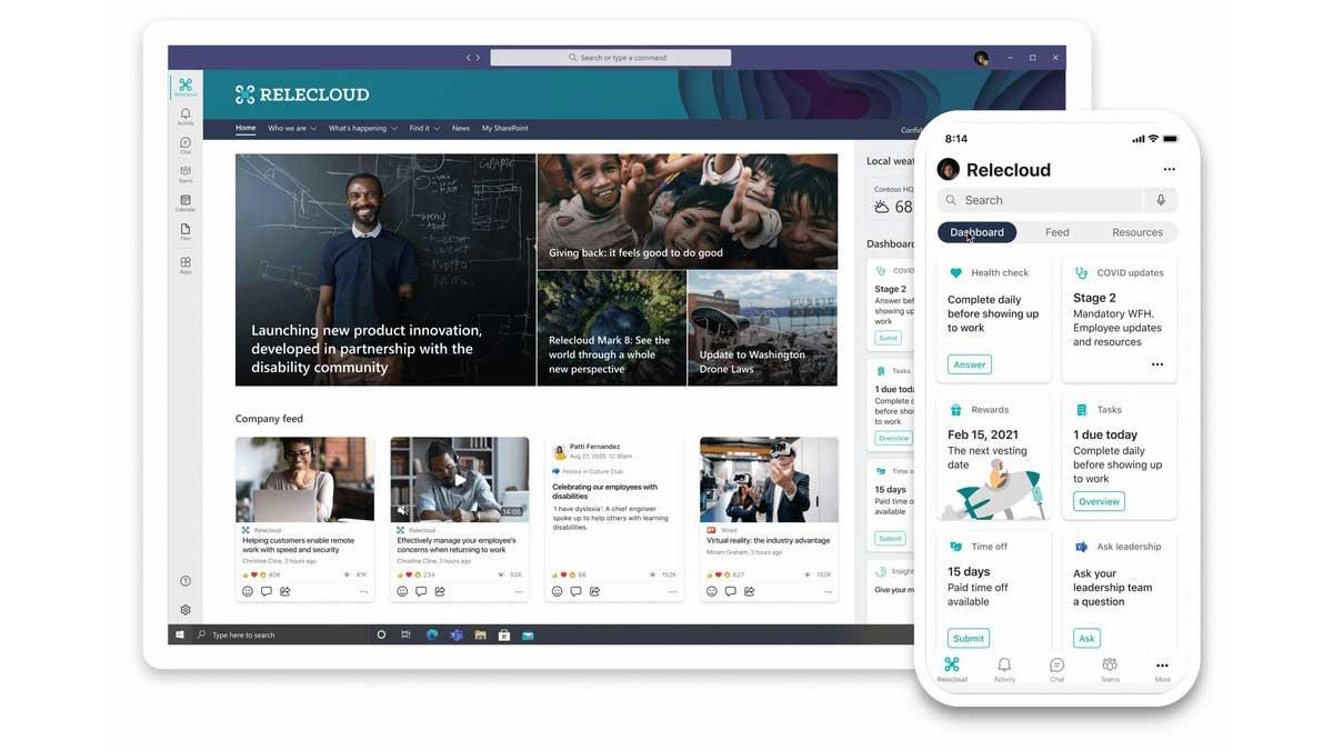 Microsoft lancia Viva: la sua piattaforma per lo smart working