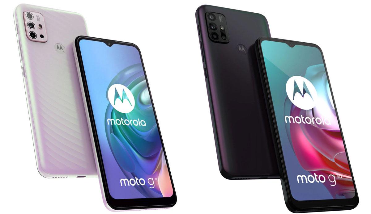 Motorola lancia Moto G10 e G30 in Italia: no al 5G in favore di ottimi prezzi