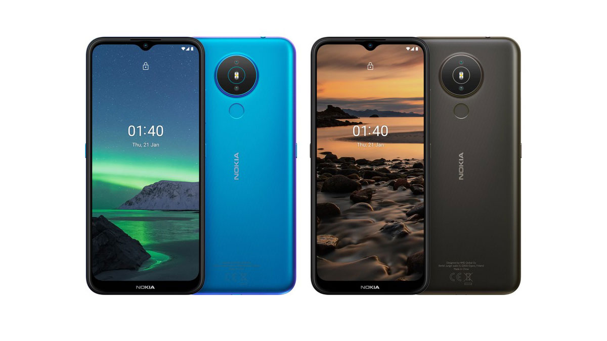 Nokia 1.4 è ufficiale con Android Go e ottima batteria a 99€